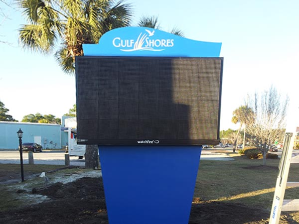 Aerial Signs and Awnings 302 Electronic Signs