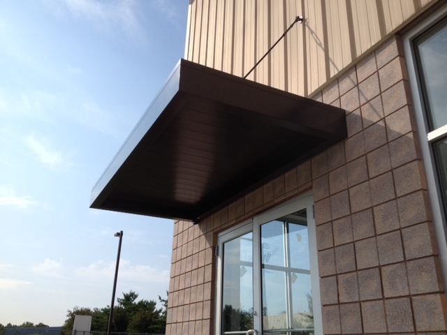 Aerial Signs and Awnings 809 Metal Canopies