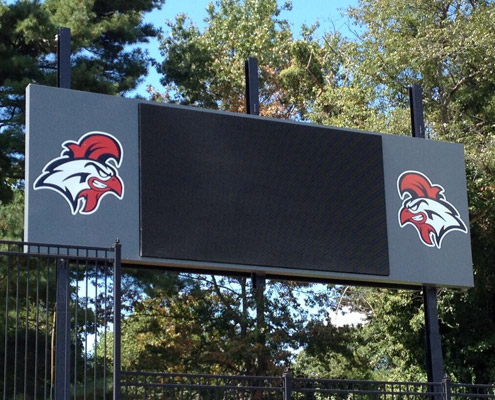 Aerial Signs and Awnings SCOREBOARDS Home